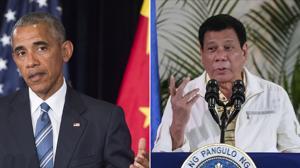 El presidente de Filipinas llama «hijo de puta» a Obama