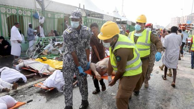 Imagen de la tragedia en Mina hace un año