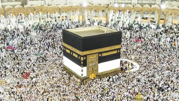 Peregrinos musulmanes llegan a la Meca, en Arabia Saudí, el pasado 3 de septiembre