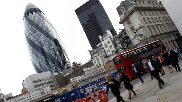 La City de Londres es el centro financiero de la ciudad