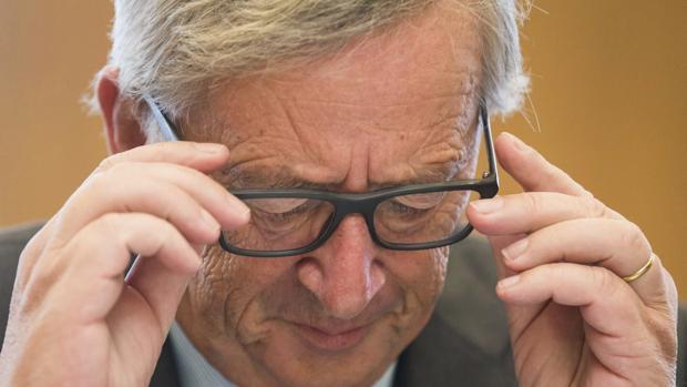 El presidente de la Comisión Europea, Jean-Claude Juncker, a su llegada a una reunión en Bruselas el pasado miércoles