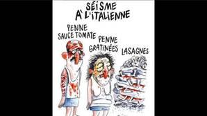 Amatrice denuncia a «Charlie Hebdo» por la viñeta satírica donde se reía del terremoto de Italia