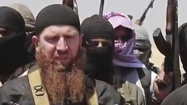 Fotograma de un vídeo en el que aparecen varios miembros del Daesh