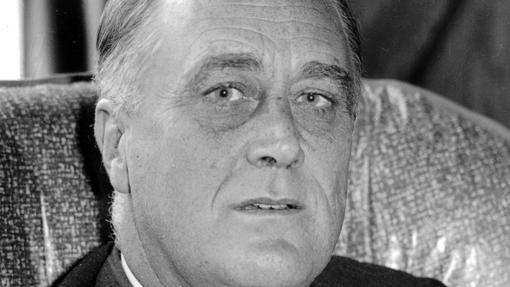 El ex mandatario estadounidense Franklin Delano Roosevelt en 1932