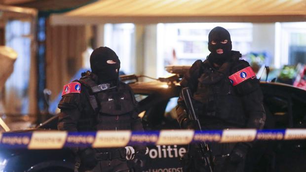 Operación antiterrorista en un barrio de Bruselas a finales del año pasado