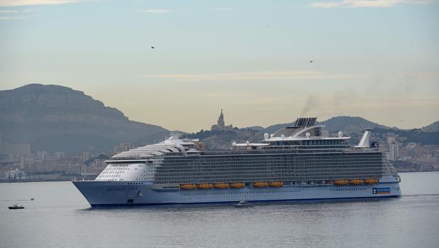 El Harmony of the Seas, el pasado 21 de junio