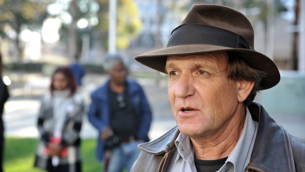 El buscador estadounidense Blaine Gibson