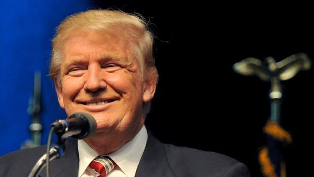 Donald Trump, durante un acto electoral este martes en Clive, Iowa