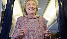 Clinton: «Me acusaránde muchas cosas, pero nunca de abandonar»