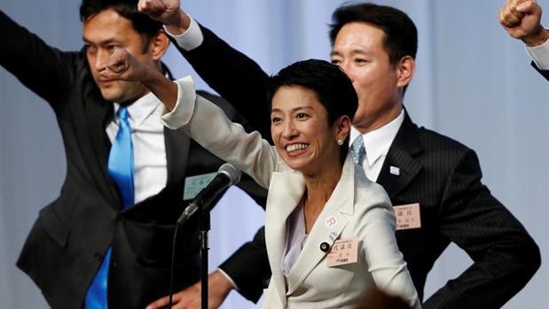 La periodista Renho Murata se ha convertido en la primera mujer que lidera la oposición japonesa, el Partido Democrático (PD)