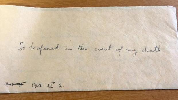 La carta que dejó una profesora escocesa antes de morir en Auschwitz