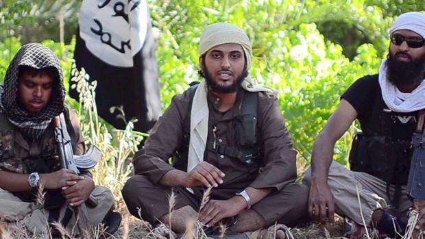 Un grupo de yihadistas, en Siria en 2014