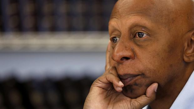Guillermo Fariñas, durante una rueda de prensa en Madrid el pasado junio