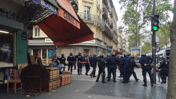Una falsa alarma desata una gran operación policial en París
