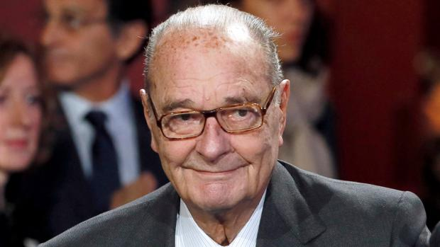 El expresidente francés Jacques Chirac a su llegada a la ceremonia de premios de la Fundación Chirac en noviembre de 2014