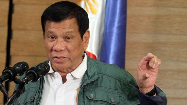 El presidente filipino, Rodrigo Duterte, en una conferencia en Davao, al sur del país, el pasado domingo