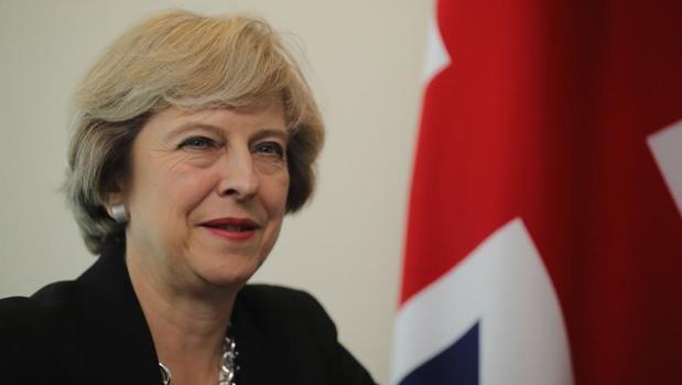 Theresa May, este lunes en la sede de Naciones Unidas en Nueva York