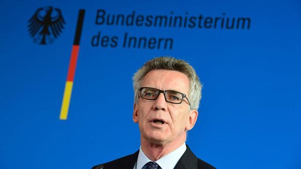 Thomas de Maizière, ministro del Interior de Alemania