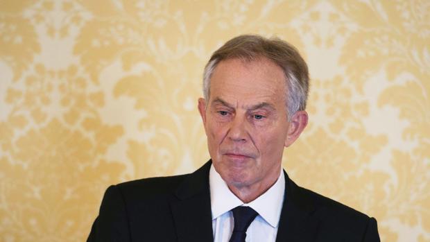 Tony Blair, durante una comparecencia ante los medios el pasado mes de julio