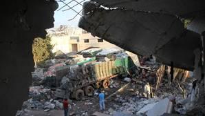 Estados Unidos acusa a Rusia de bombardear un convoy humanitario en Alepo