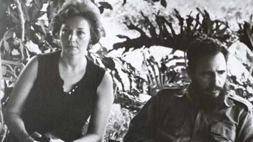 El mandatario cubano, Fidel Castro, y su hermana disidente, Juanita Castro Ruz
