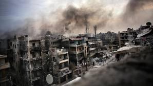 Al menos 45 muertos por la ola de bombardeos contra zonas rebeldes de Alepo