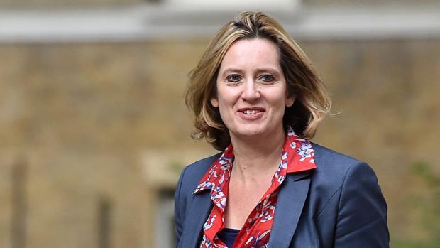 La ministra de Interior británica, Amber Rudd, llegaba una reunión con la primera ministra, Theresa May, el pasado 13 de julio