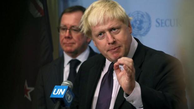 Boris Johnson, en las Naciones Unidas