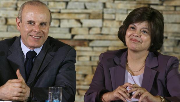 El exministro junto a Dilma Rousseff