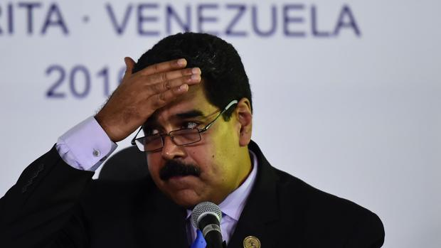 Nicolás Maduro, durante la cumbre de países No Alineados