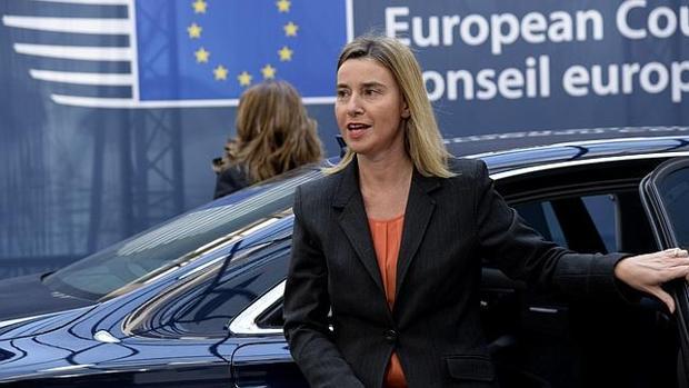 La responsable de política exterior en la Comisión Europea, Federica Mogherini