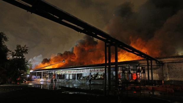 Las llamas se han propagado a lo largo de 12 horas