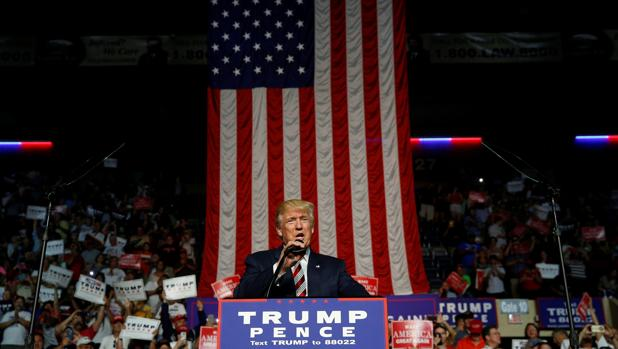 Mitin de Donald Trump en Virginia