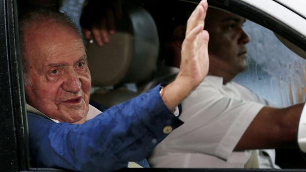 El Rey Juan Carlos I ha llegado este domingo a Colombia