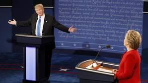 La mejor preparación de Clinton vence a la improvisación de Trump