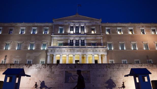 El Parlamento griego, donde se dio luz verde a las medidas