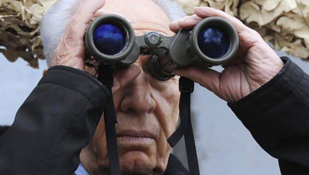 El difunto Simón Peres, en una imagen de archivo