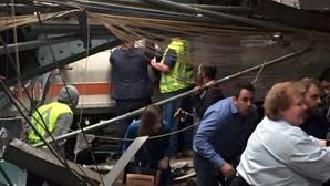 Al menos un muerto y 108 heridos por el accidente de un tren cerca de un suburbio de Nueva Jersey