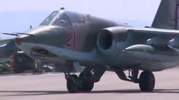 Avión de combate ruso enviado a Siria