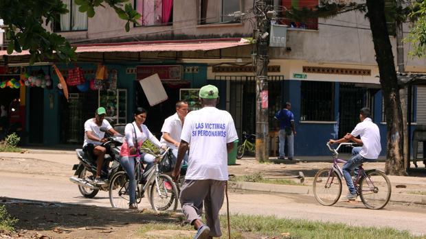 Barrio de La Chinita, en Antioquia, donde hace 22 años las FARC cometieron una matanza