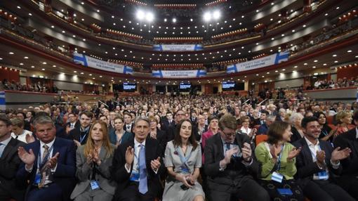 Así estaba el Congreso del Partido Conservador