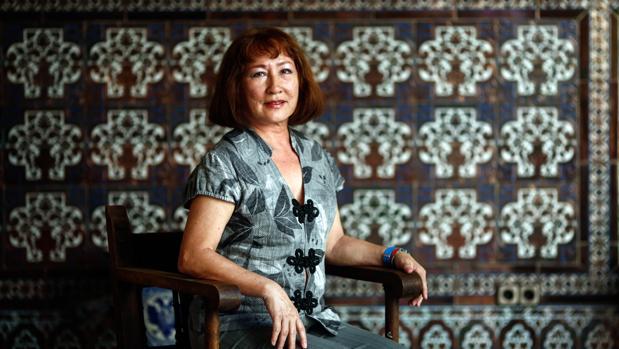 Entrevista con Ludmila Vinogradoff en la sede de ABC