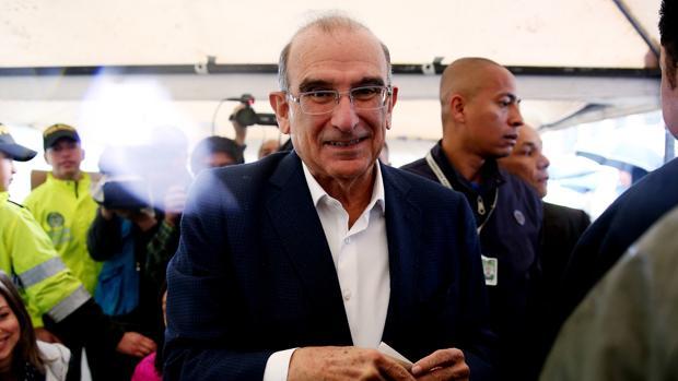 El jefe negociador del Gobierno en los diálogos de paz, Humberto de la Calle