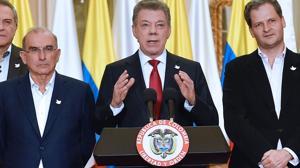 Santos: «No me rendiré, seguiré buscando la paz hasta el último minuto de mi mandato»