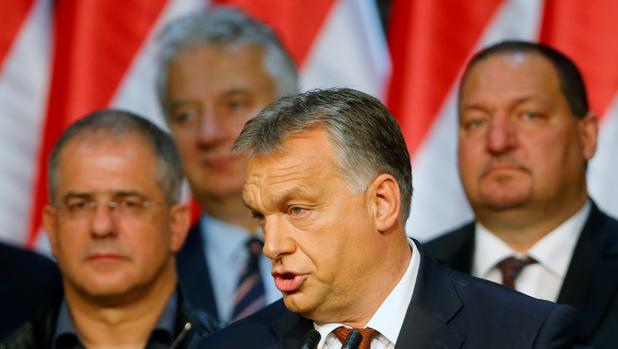 Viktor Orban, primer ministro de Hungría, tras el referéndum