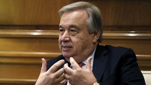 El ex primer ministro portugués Antonio Guterres