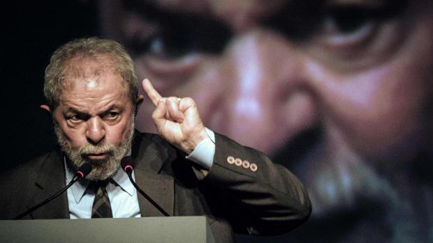 Lula, durante un acto celebrado este martes en Río de Janeiro