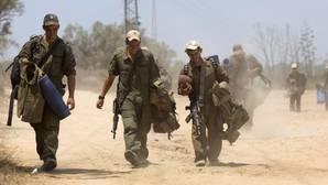 Un proyectil disparado desde la Franja de Gaza impacta en una ciudad del sur de Israel