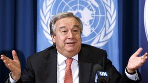Antonio Guterres, de la «revolución de los claveles» a la crisis de los refugiados