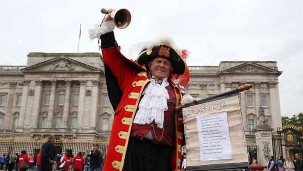 Exteriores del palacio de Buckingham en una imagen de archivo